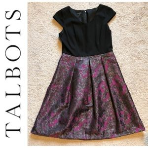 Talbots Fit and Flare Cocktail Dress